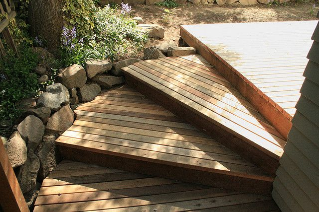 1000+ Ideas About Deck Stairs On Pinterest
