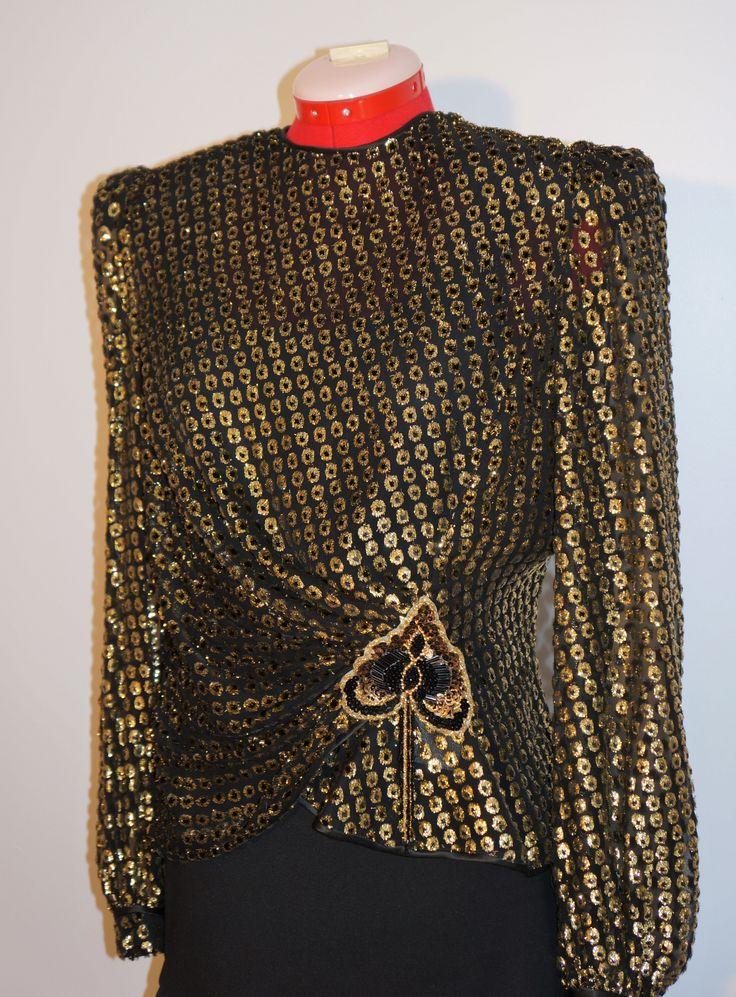 Anna Coina vintage top