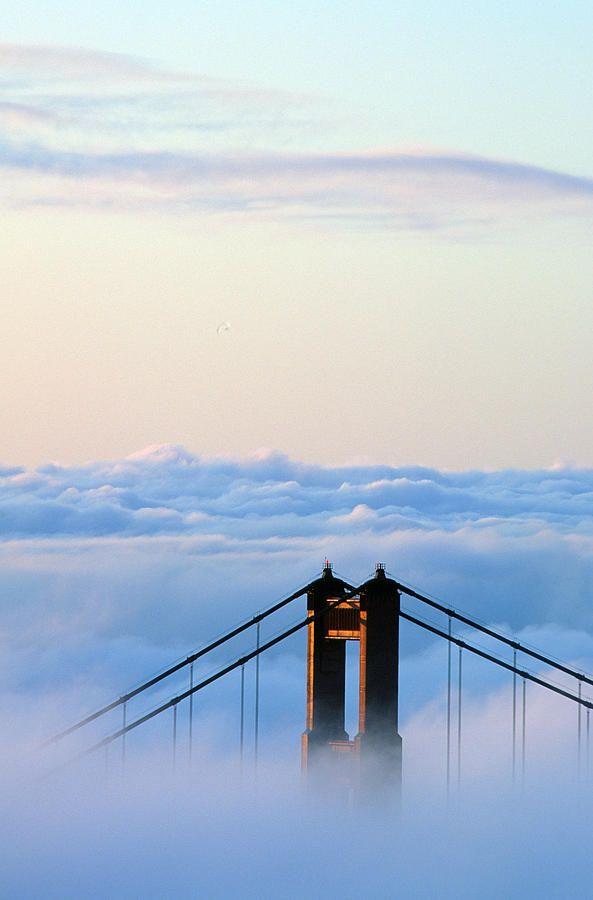 San Francisco Fog Map Live%0A San Francisco  Golden Gate Bridge Photograph  San Francisco  Golden Gate  Bridge Fine Art
