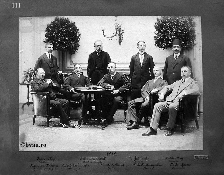"""Comisia Europeană a Dunării, 1912, Galati, Romania. Imagine din colecţiile Bibliotecii Judeţene """"V.A. Urechia"""" Galaţi."""