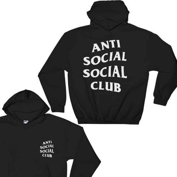 Anti Social Social Club Hoodie - Anti Social Social Club Sweatshirt - Kanye West Hoodie - yeezy hoodie - Yeezus Hoodie - Yeezus - assc - #Hoodies #SocialSocialClub