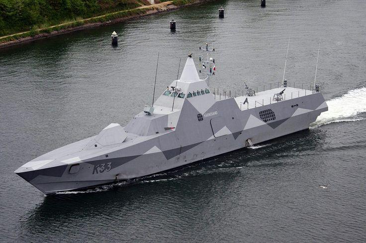 Visby class corvette - Swedish navy