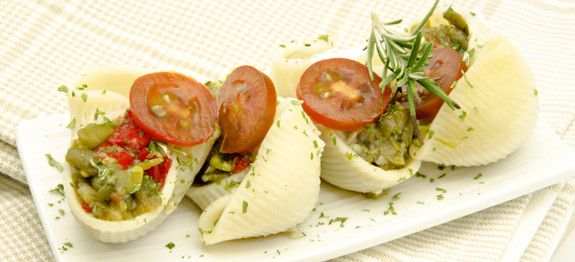 conchigliacci alle verdure