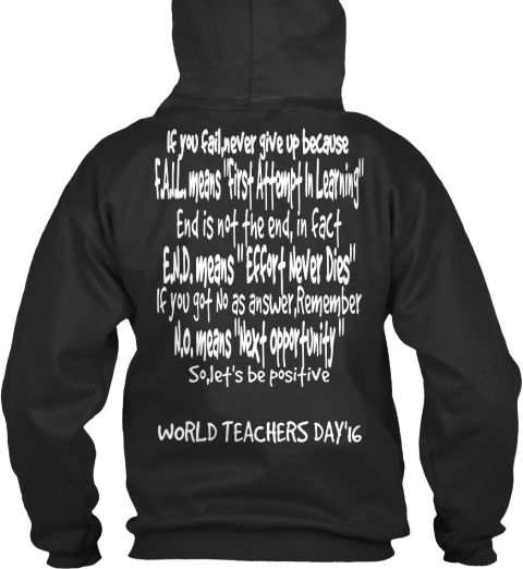 #worldteachersday2016 #teachertshirt  grab now: https://teespring.com/world-teachers-day-2016-8807