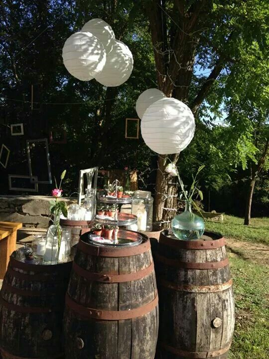 Outdoor wedding. Roberta Sollazzi designer.