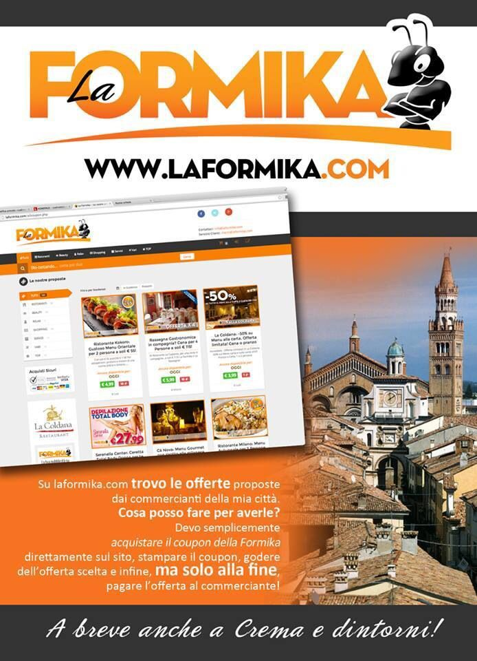 La Formika - coupon Crema