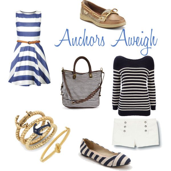 Nautical inspired outfits