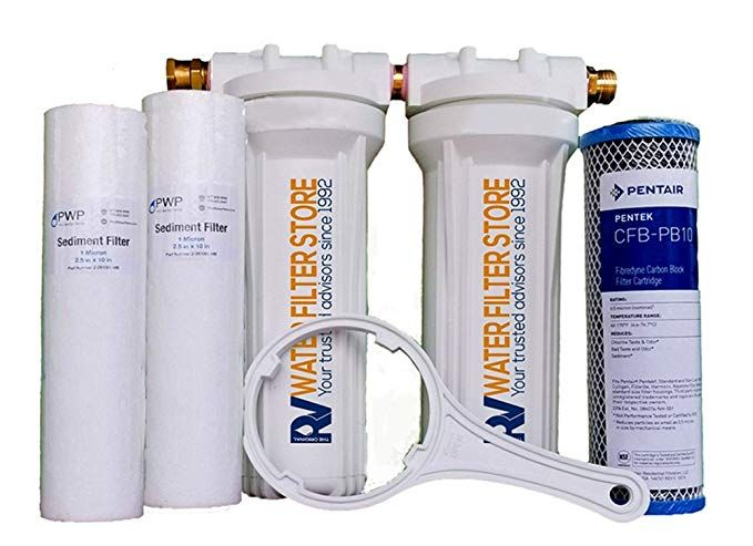 Essential Rv Water Filter System With Hose Fittings Premium Rv Water Filtration System With Cyst Removal Brack Rv Water Filter Water Filters System Rv Water