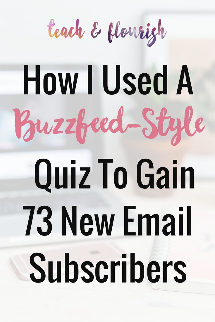 Learn how I used a 7-question Buzzfeed-Style Quiz to get 73 new people on my email list on autopilot over a two week period.