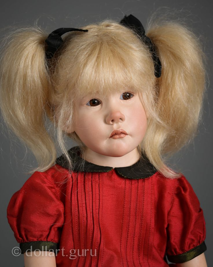 Agathe. Фарфоровая кукла Франсуазы Филачи