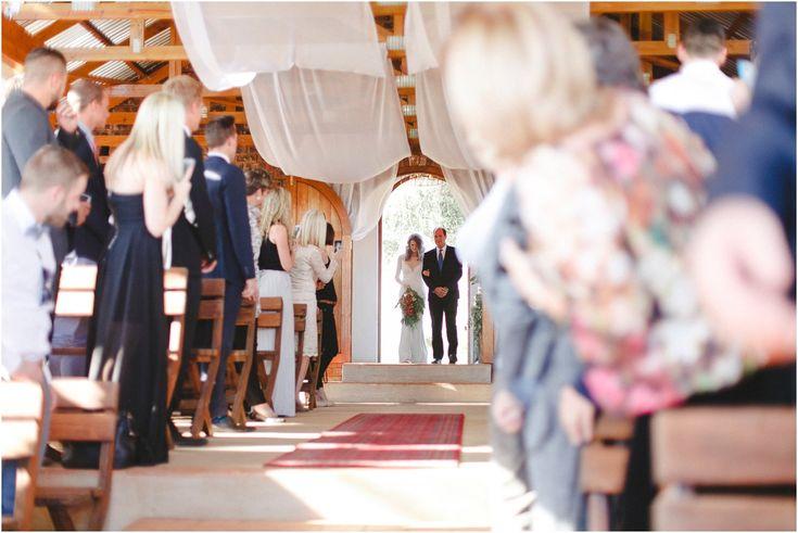 Real Wedding   Kate & Scott - Hooray Weddings