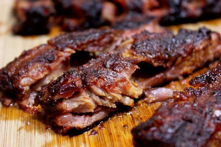 In this recipe, I show you how to make smoked spare ribs that are so fall apart tender that you can just pull the bones out as if they were in hot butter.