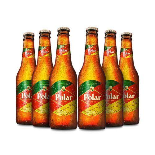 Cerveja Polar 355ml Caixa com 6 unidades