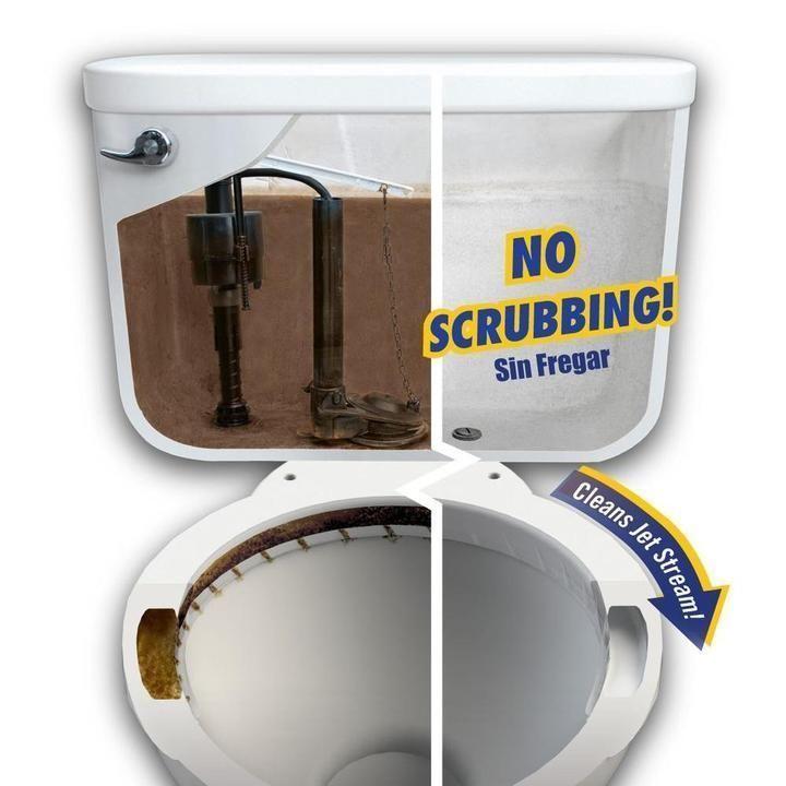 Toilet Tank Cleaner 3 Packs Toilet Cleaning Cleaning Hacks