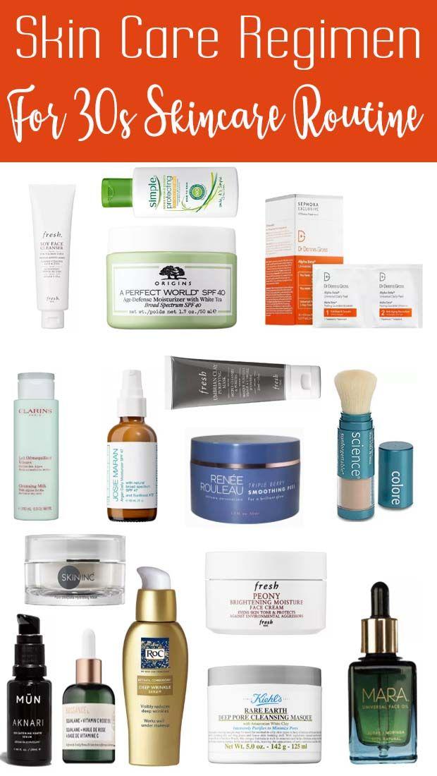 Skin Care Regimen For 35 Year Old Skin Care Regimen Best Skin Care Regimen Skin Care