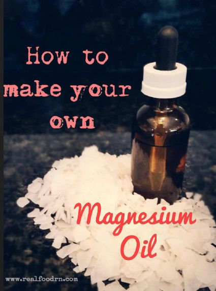 Excellent to use on skin at night for leg cramps, and restless legs. how-to-make-your-own-magnesium-oil