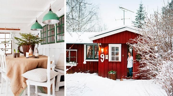 """JULPYNTAT MED NATUREN I GRÖNLUNDEN   """"Det är inget stort hus, men doften av gran måste jag få in – annars blir det inte jul"""", säger Katarina Drevenlid. När hon gör julfint hemma tar hon vara på närheten till naturen. Mossa, grankvistar och vackra grenar blir till pynt och pyssel hemma hos Katarina Drevenlid. Med naturen utanför knuten är det lätt att göra julen naturlig."""