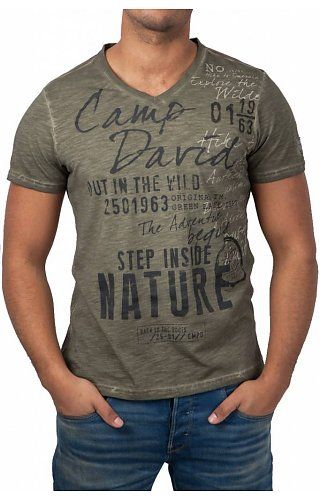 8720c184b490 Camp David Camp David ® T-Shirt Nature