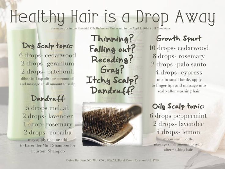 Young Living Essential Oils: Hair If you don't have a Young Living sponsor and would like info on how to place an order or join Young Living, please contact me at Healing Lotus Wellness on facebook, or e-mail me @ HealingLotusWellness@gmail.com