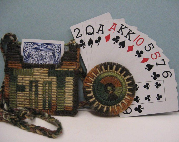 playing card holder for hand and foot  etsy  playing