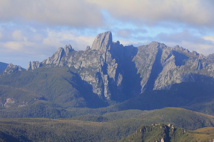 Federation Peak - one of Tasmania's most iconic mountains.