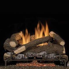 Scarlet Oak Ventless Gas Logs