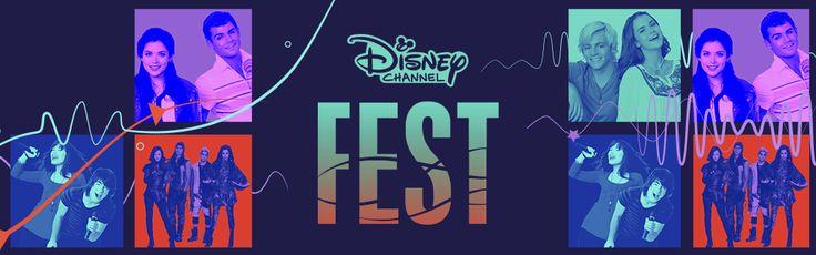 Disney channel fest Vota en disneylatino.com/disneychannel  y elegi a tu favorito