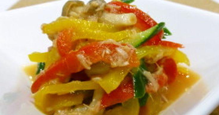 ビタミン豊富なパプリカを電子レンジで簡単調理!一品プラスで食卓に彩りを!