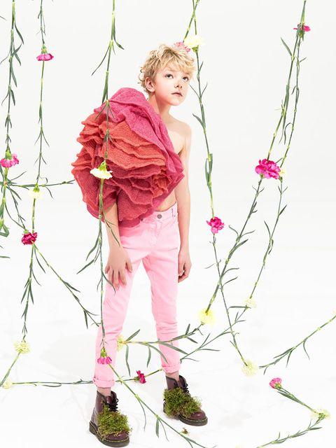 Série mode : Rose & Violet   MilK - Le magazine de mode enfant