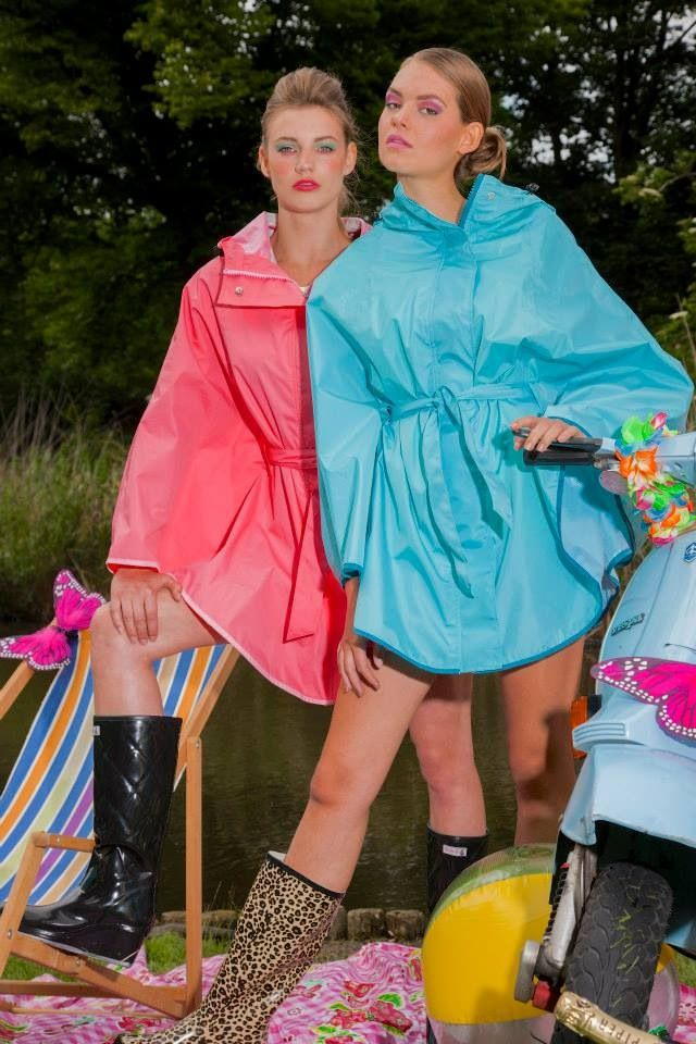 rainfest festival rain fashion