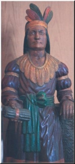 Wooden Cigar Store Indians