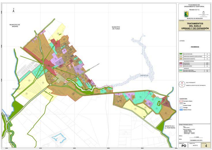 imagen de mapa de Tratamientos del suelo urbano y de expansión