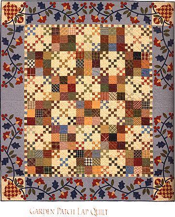quilt - garden patch quilt - kim diehl