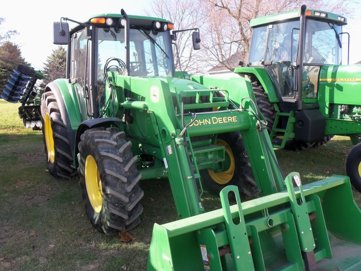 90hp John Deere 6420   with 640 loader