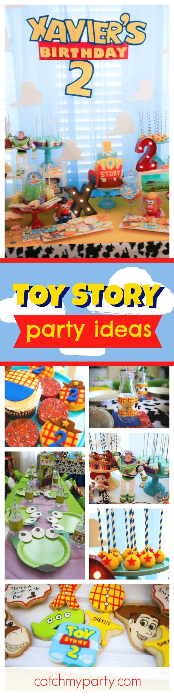Toy story party ideas birthday in a box - Check Out This Awesome Toy Story Birthday Party The Cupcakes And Cookies Are So Much