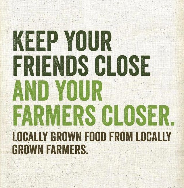 Think local! Buy local!