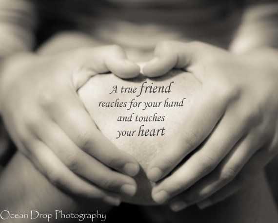 Best Friend Gift Friendship Quote Print by OceanDropPhotography, $19.00