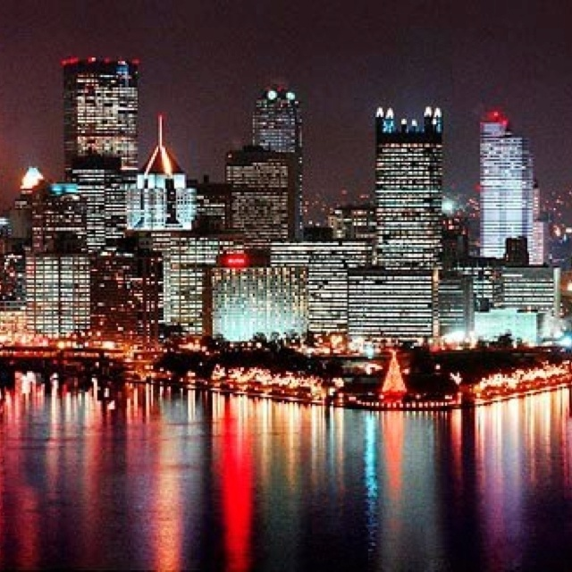Pittsburgh Skyline: 70 Best Christmas In Pittsburgh.... Images On Pinterest