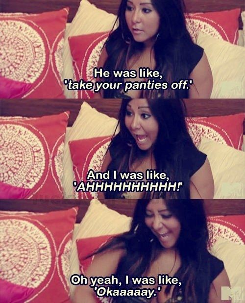 """She's always super comfortable with her sexuality. 