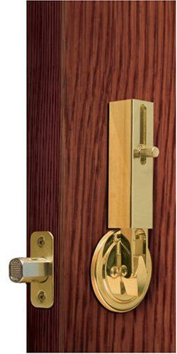 $15.49-$24.95 Lock Jaw Security 1001 Door Security Device, Polished Brass -  http://www.amazon.com/dp/B000RZQAPM/?tag=pin2pet-20