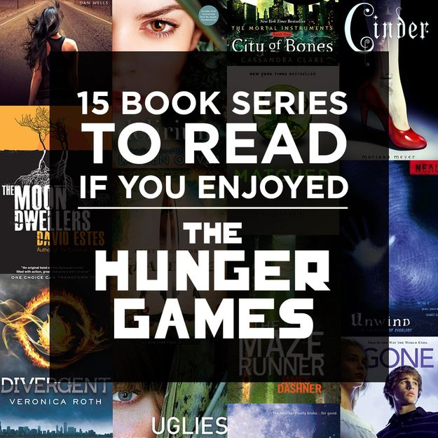 15 Book Series to Read if You Enjoyed the Hunger Games I've read the Lunar Chronicles - AWESOME and The Last Survivors - equally awesome