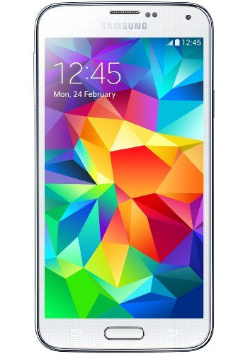 Samsung Galaxy S5 G900H Factory Unlocked Cellphone Android KitKat 4.4.2 International Version (White)