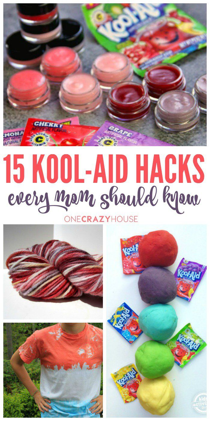 Kool Aid is more than just another drink mix. It is a versatile household item that can assist you in cleaning and other DIY tricks and projects.