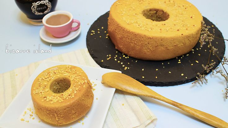 Milk Tea Chiffon Cake ~ #Recipe