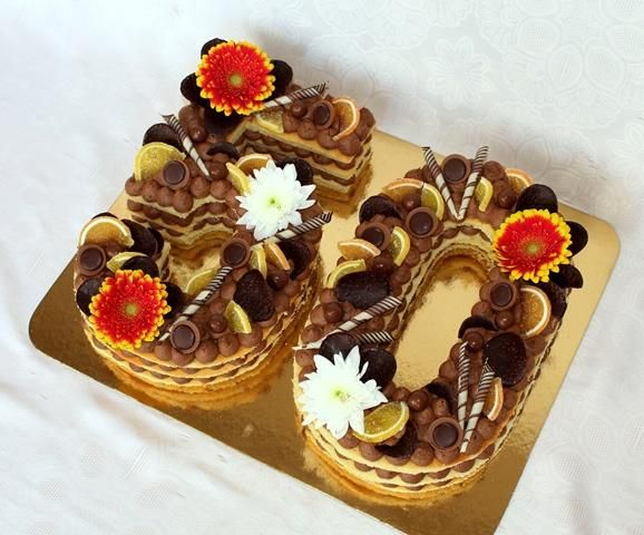 Nahé torty / Naked cakes