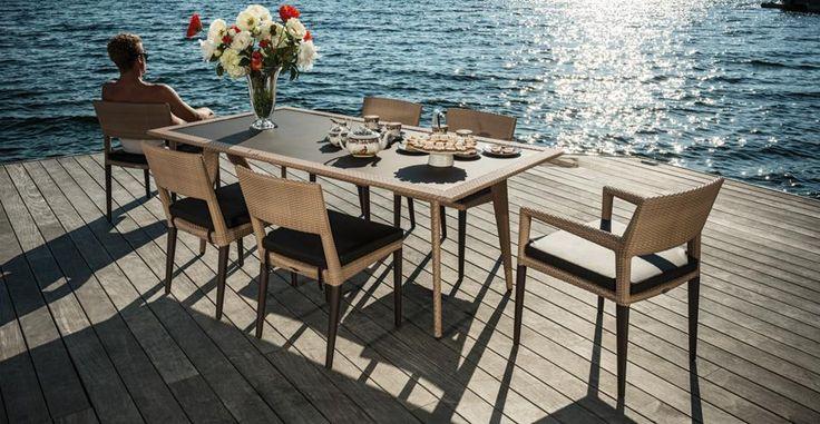 Tavoli e sedie di design per il giardino