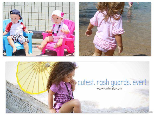 Girl+Rash+Guard+Swim+Set