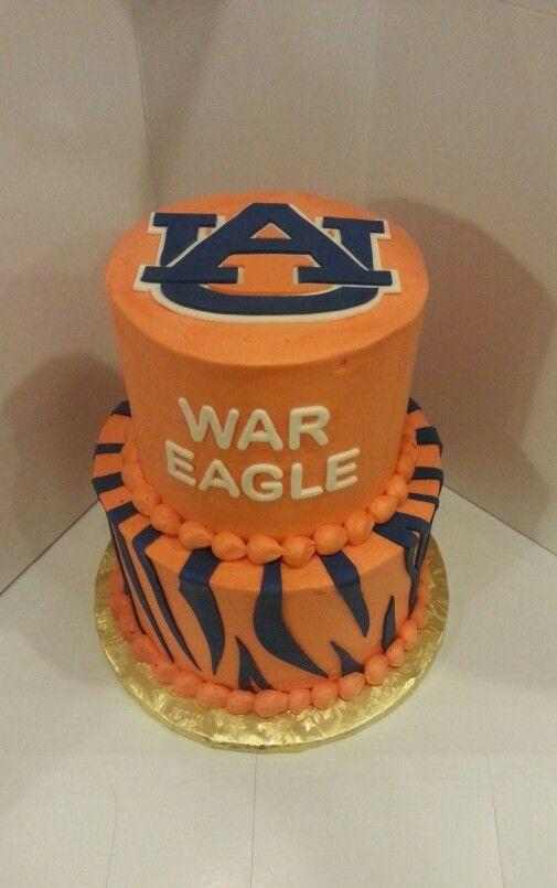 Auburn University war eagle cake