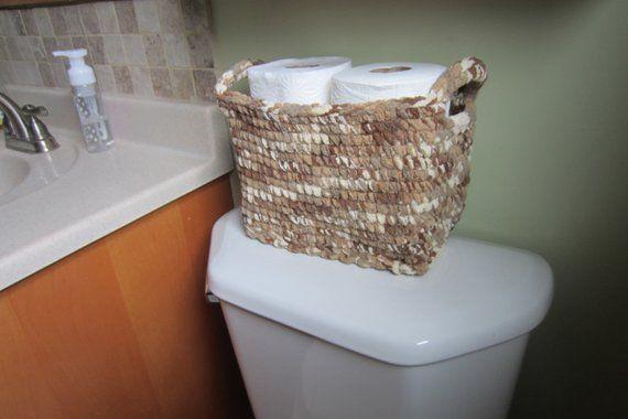 Custom Size Toilet Tank Storage Basket Large Rect Toilet Tank Storage Baskets