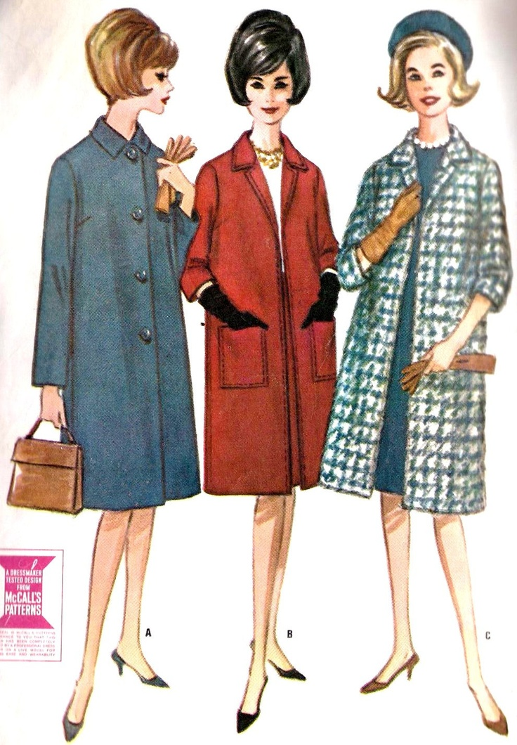 29 best Sew: Coats images on Pinterest | Vintage schnittmuster ...